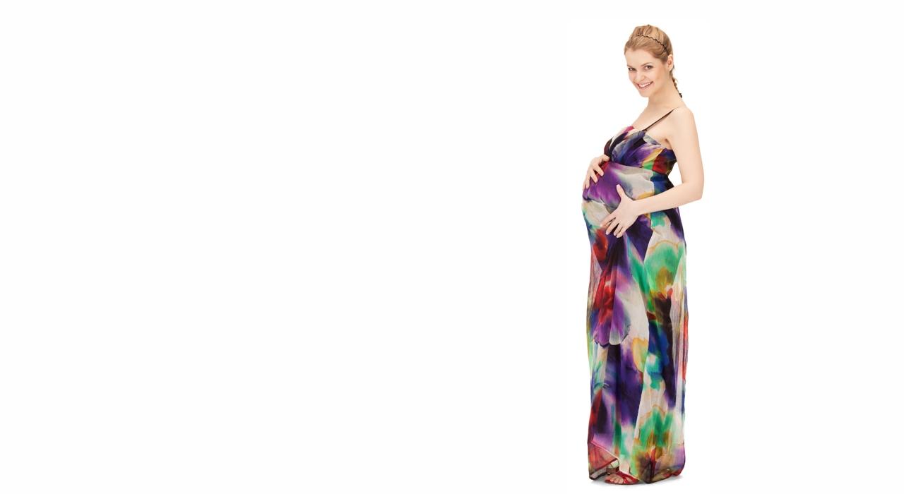 Pregnant colourful dress bg - Auckland Hypnobirthing - Practical ...